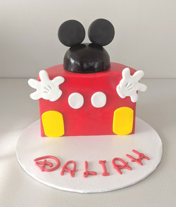 Mickey Mouse Half Birthday