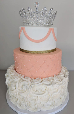 Princess Shower Cake