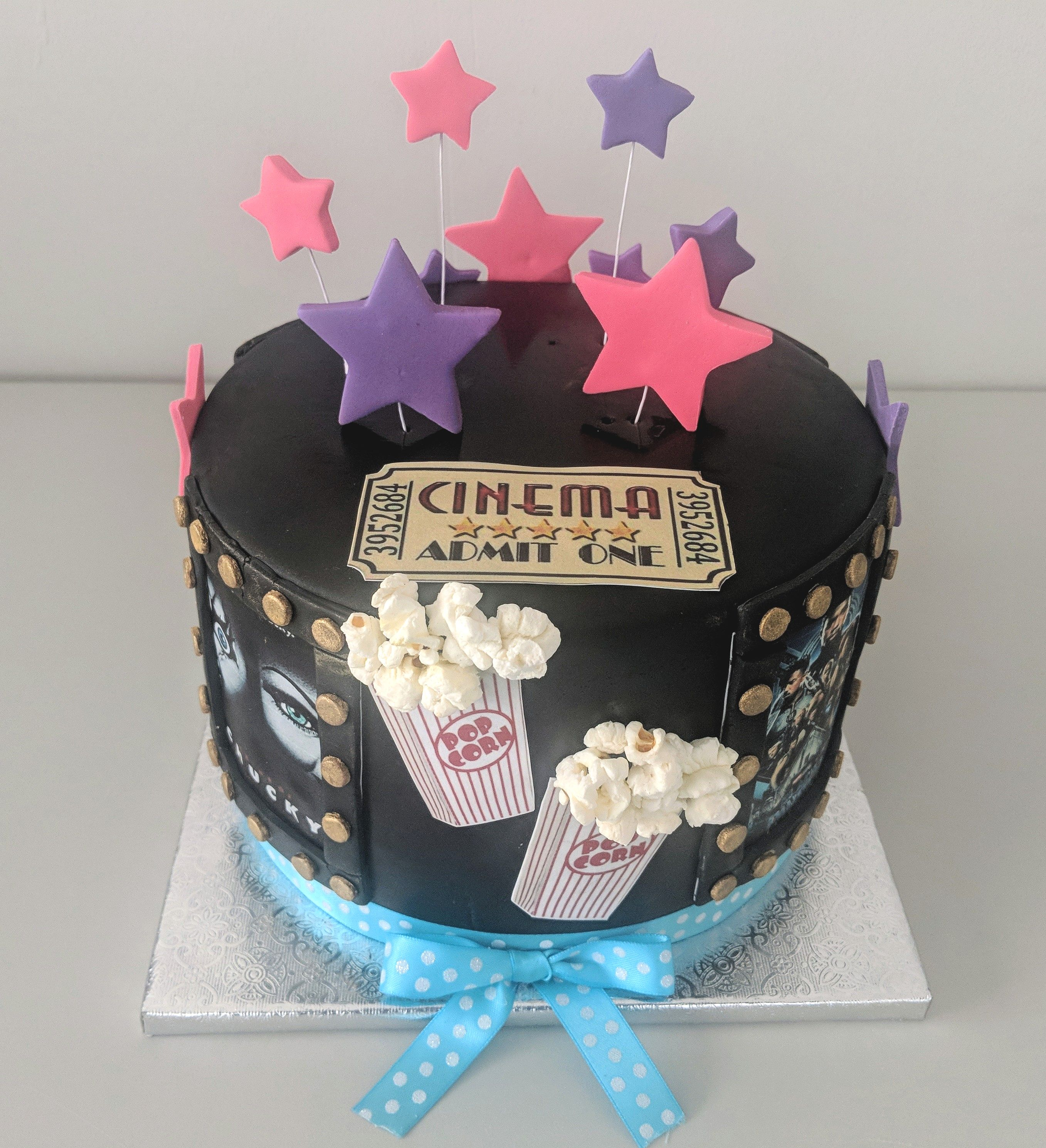 Cinema Birthday Cake (front)
