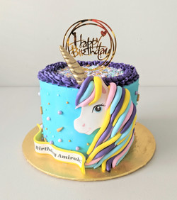 Unicorn Magic Birthday Cake