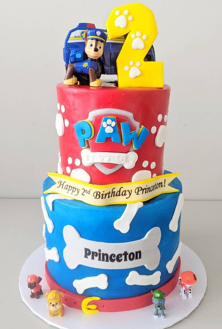 Paw Patrol Birthday Cake
