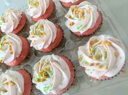 Traditional Strawberry Cupcakes