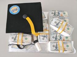 Fisk University Graduation Cake