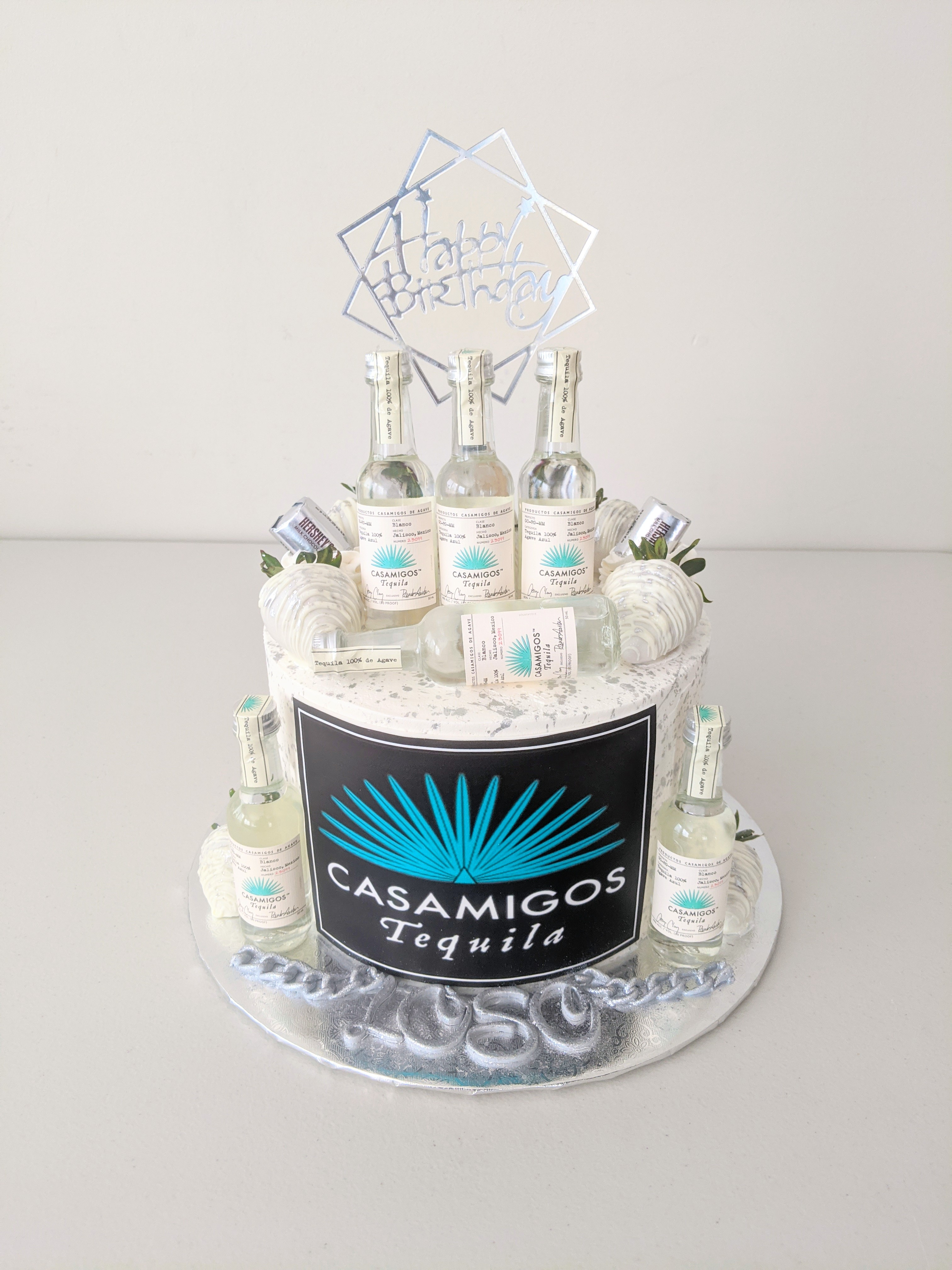 Casa Migos Adult Beverage Cake