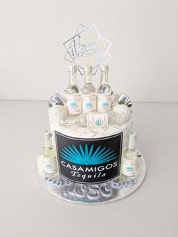 Casa Migos Adult Beverage Cake