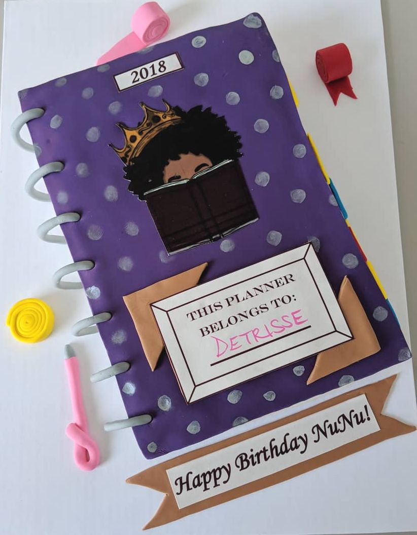 Planner Addict Birthday Cake