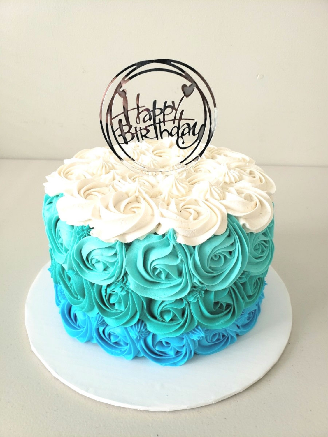 Frozen themed Rosette Cake