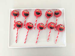 Elmo Cake Pops (red)