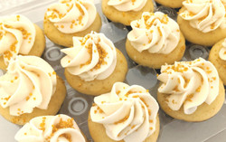 Bite Size French Vanilla Cupcakes
