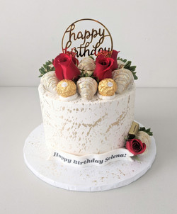 Elegance Birthday Cake