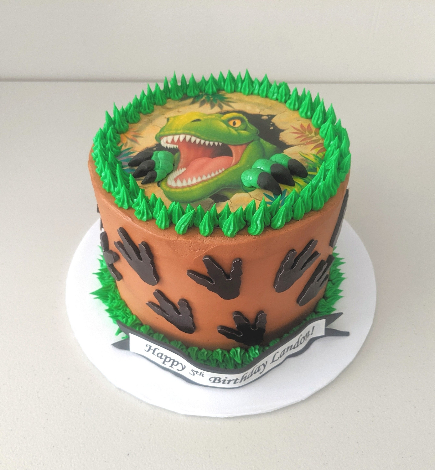 Dinosaur Cake