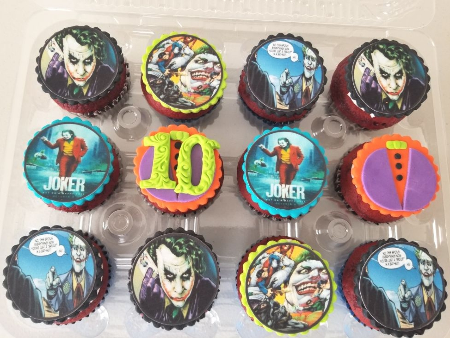 Joker Cupcakes