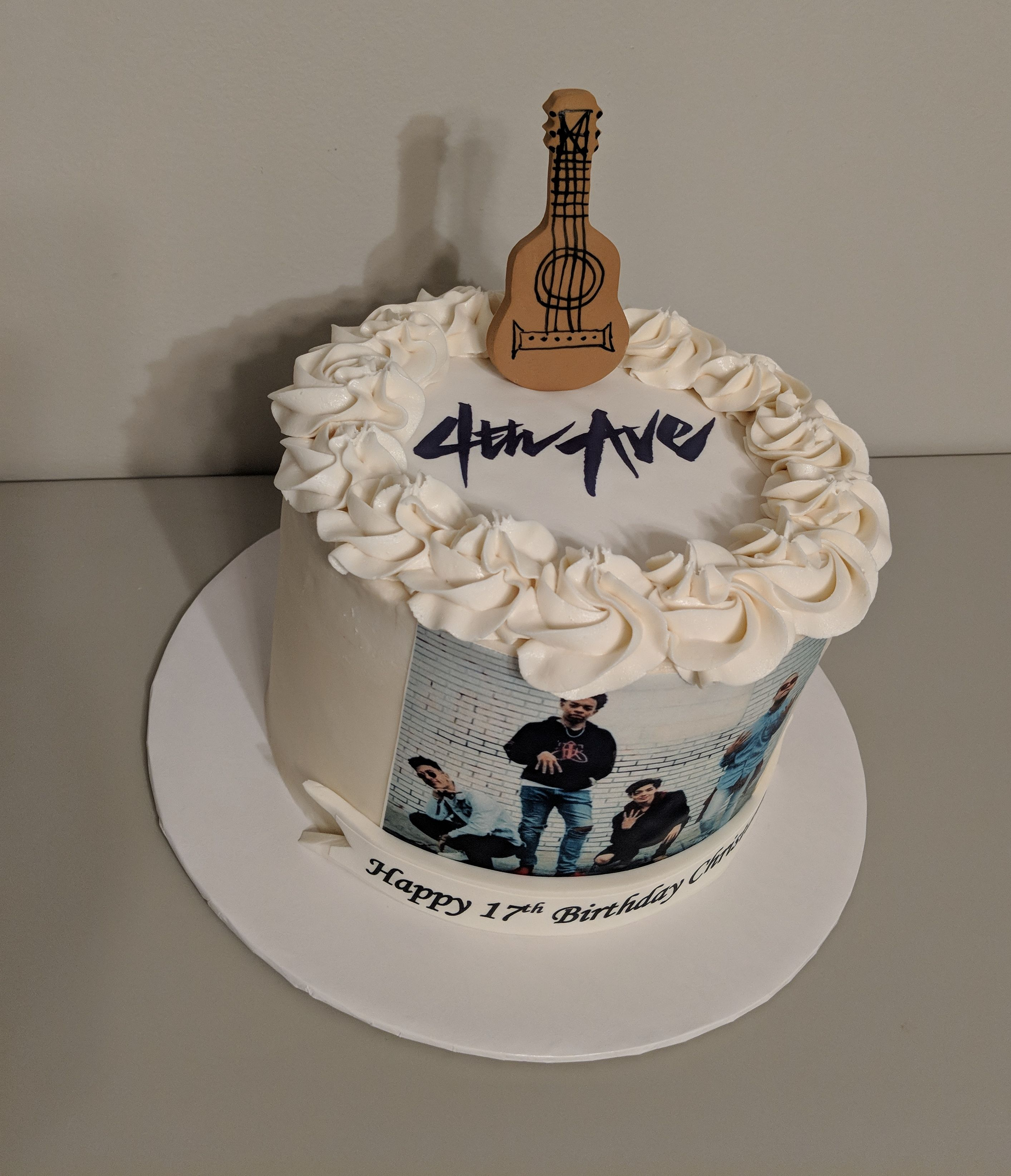 4th Avenue Music Cake
