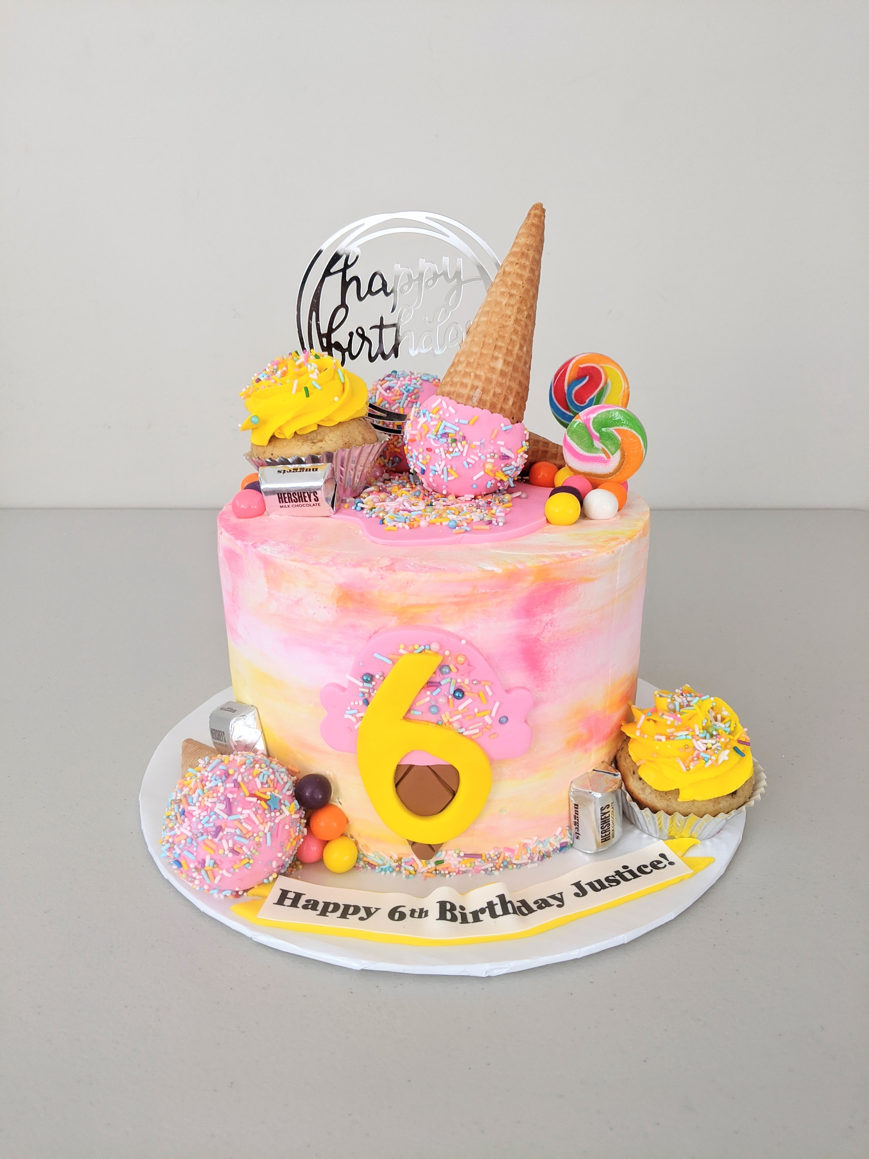 Ice Cream Cone Fun Cake