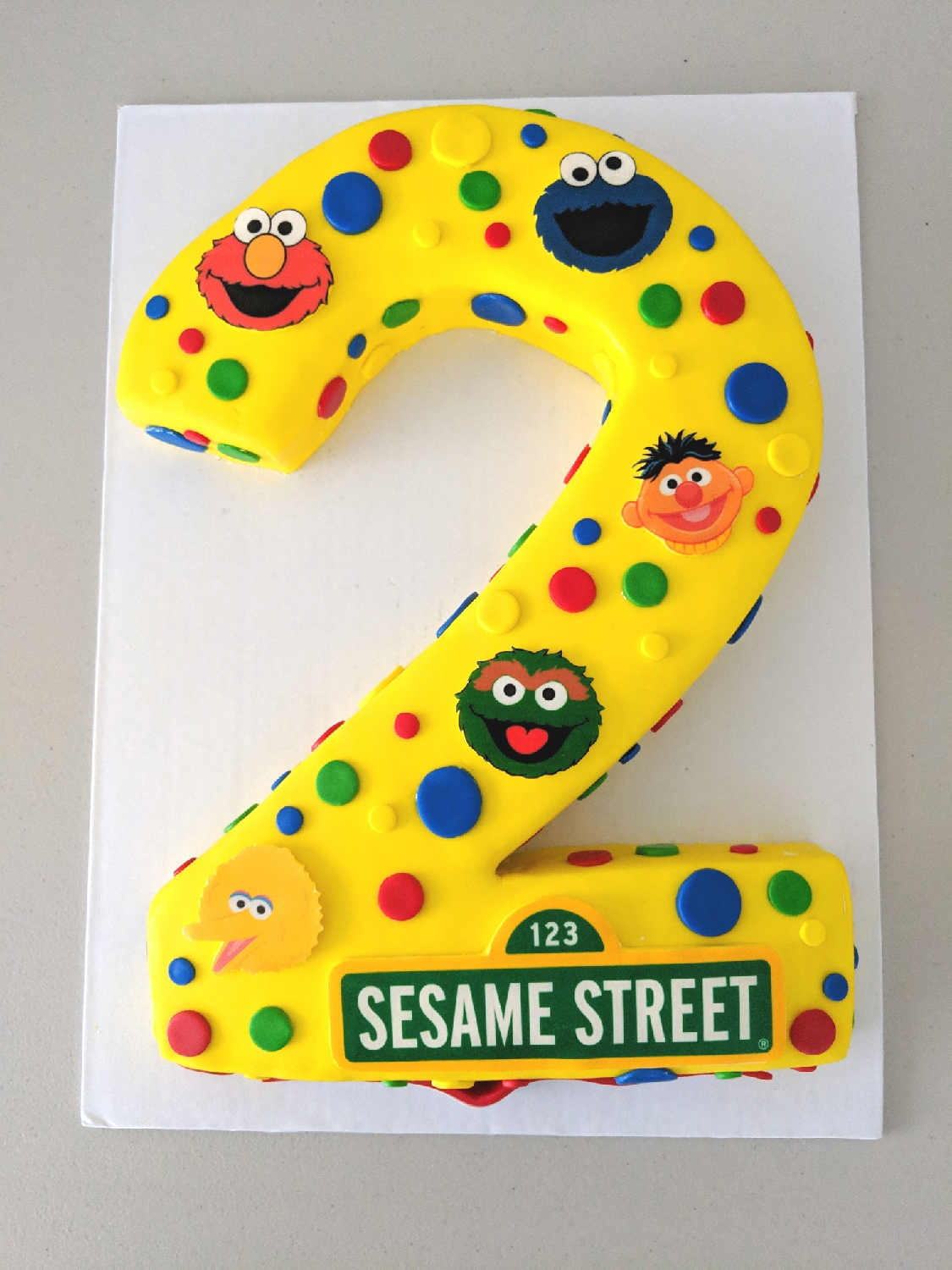 Sesame Street Birthday Cake