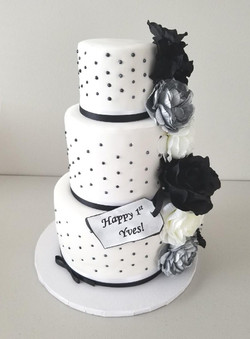 """Elegance"" Birthday Cake"