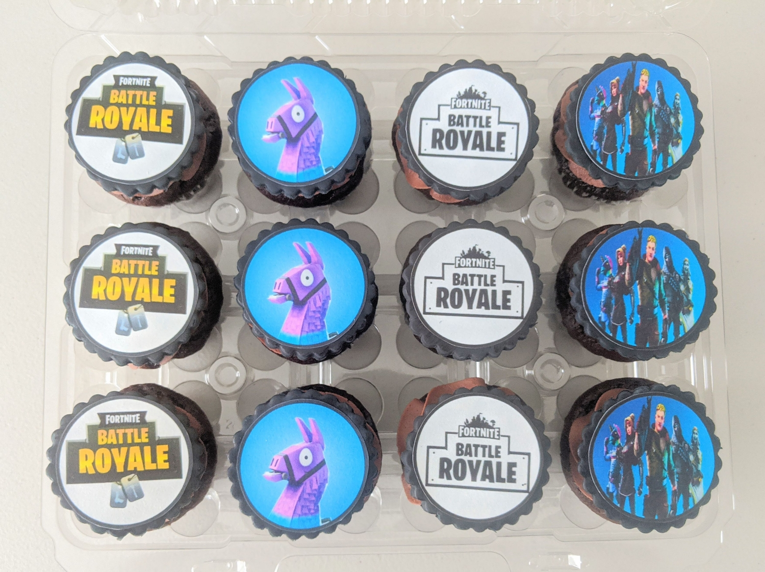 Fortnite Cupcakes