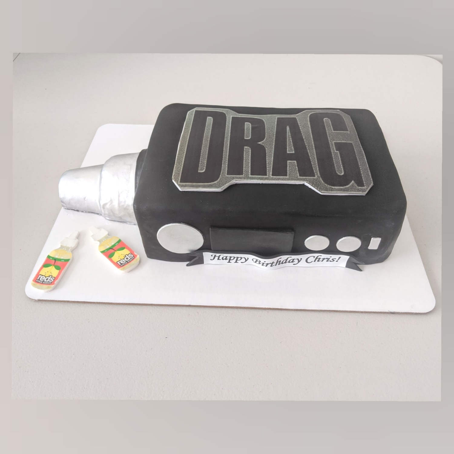 Vape Birthday Cake