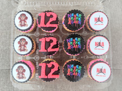 NBA Young Boy Cupcakes