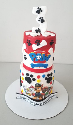 Paw Patrol & Friends Birthday Cake