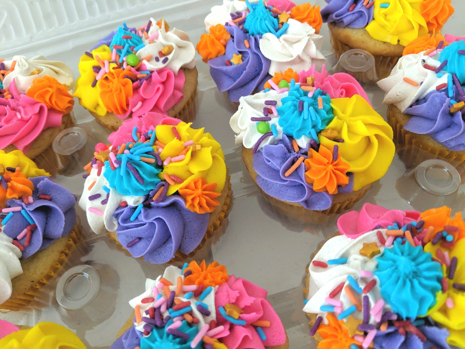 Unicornio Cupcakes