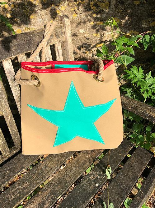 Canvas Star Bag