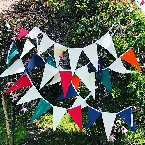 Canvas Bunting