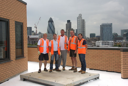 Hambro Roofing - Onsite Team at East London Mosque
