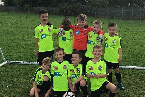 Elite Colts under 8's sponsored by Hambro Roofing