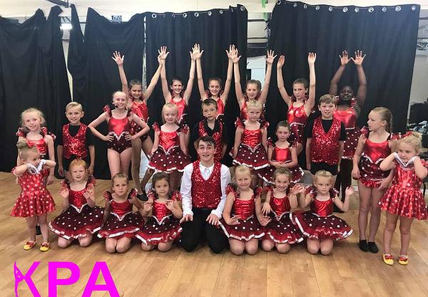 KPA Dance Club sponsored by Hambro Roofing