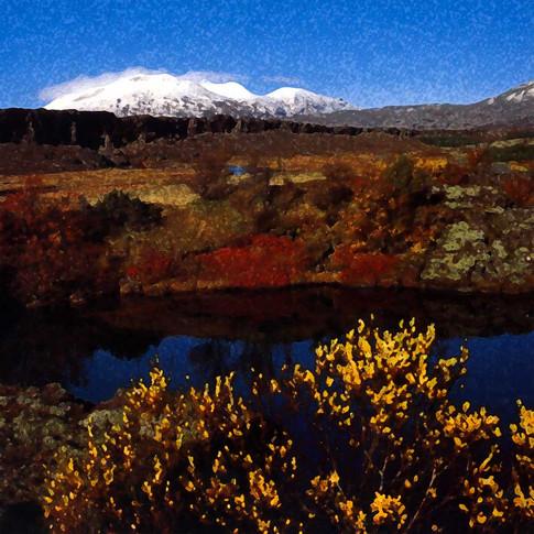 Thingavallur. Iceland