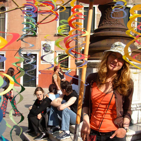 The Merchants of Venice: Twirly whirly vendor