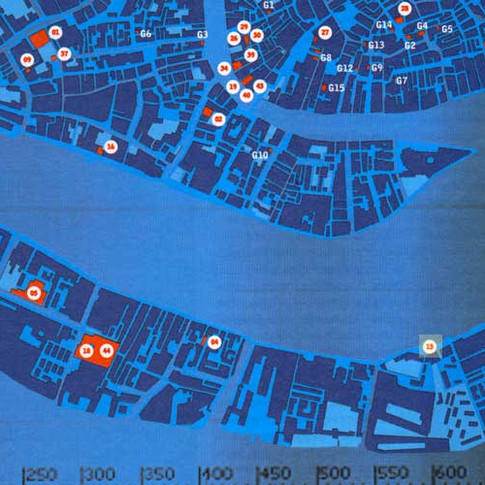 RADAR project map