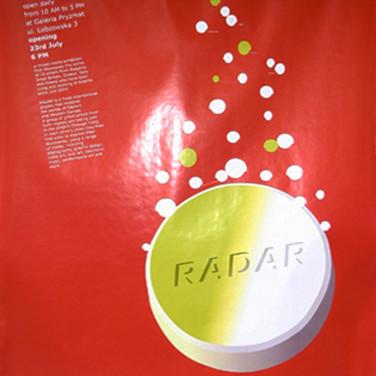 RADAR Poster for Galeria Pryzmat