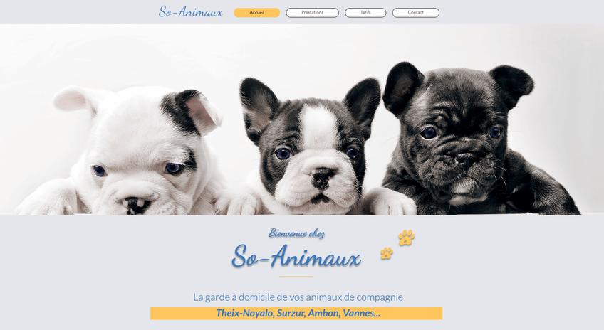 So-Animaux : Garde de vos animaux à domicile