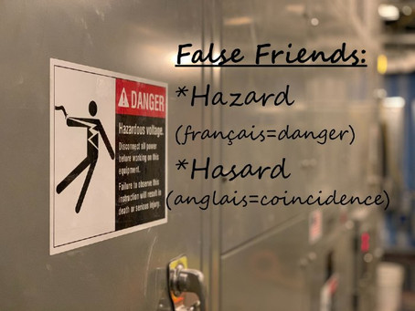 Le piège des faux-amis entre le français et l'anglais