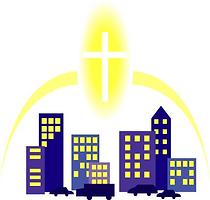 都市と十字架