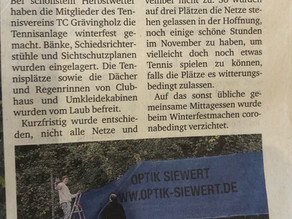 Ruhr Nachrichten 9.11. 2020