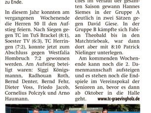 Ruhrnachrichten 23. September