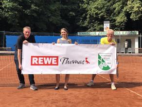 Neuer TC Grävingholz-Partner: Rewe Thomas