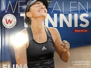 TC Grävingholz im Westfalen Tennis - 7000 Exemplare verteilt in allen Tennisvereinen Westfalens