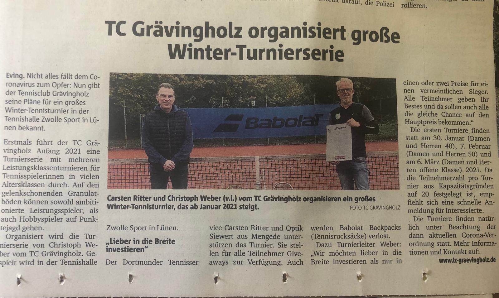 Ruhrnachrichten vom 27.10. 2020