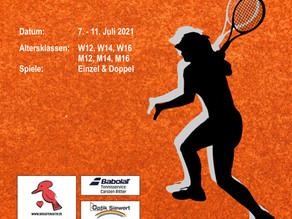 Brechten Aktiv Jugend Tennis Cup startet am Mittwoch