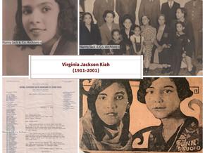 Happy Birthday Virginia Jackson Kiah!