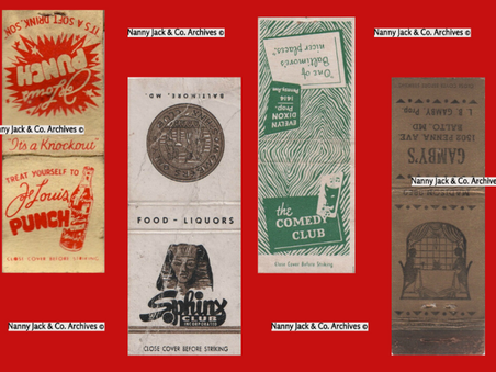 African American Businesses and Matchbook Covers