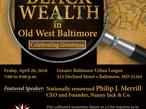 Lost Legacy of Black Wealth In Old West Baltimore