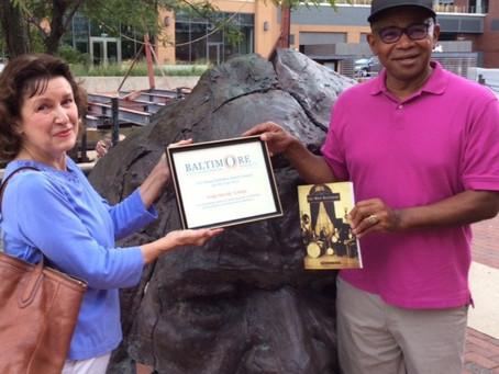 Baltimore City Historical Society Award