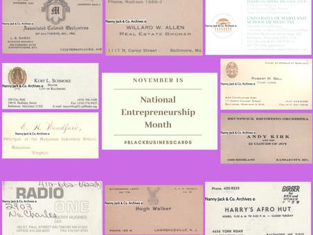 National Entrepreneurship Month: Celebrating Black Businesses