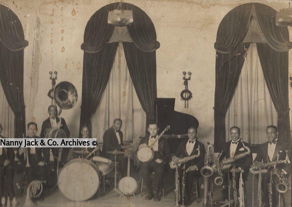 Bubby Johnson is pictured below, second from the right.