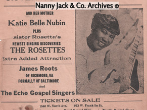 Honoring the Godmother of Rock and Roll, Sister Rosetta Tharpe